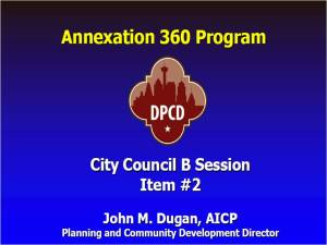 annexation 360 program